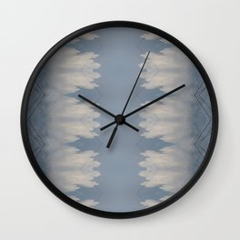 Highwire Totem, Lace Dominant Wall Clock