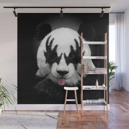 Panda rocks Wall Mural