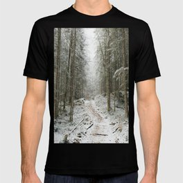 For now I am Winter - Landscape photography T-shirt