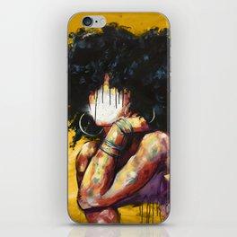 Naturally II GOLD iPhone Skin