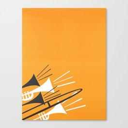Brass Instruments Canvas Print