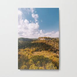 View from Chimney Top Rock - Red River Gorge, Kentucky Metal Print
