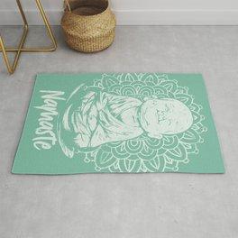 Namaste Buddha Mandala Rug