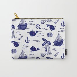 Cute Nautical Sailor Boy Carry-All Pouch
