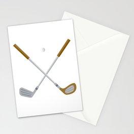 I Love Golfing Stationery Cards