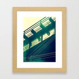 Portageville Bridge Framed Art Print