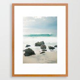 Evening on the Ocean Framed Art Print