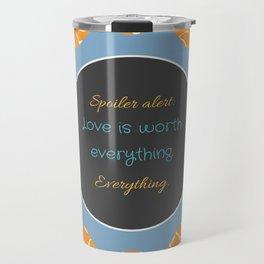 Everything, Everything by Nicola Yoon Travel Mug