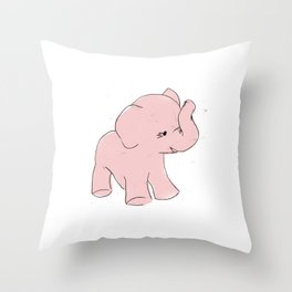 elephant toy Throw Pillow