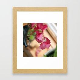 Le Fleur Framed Art Print