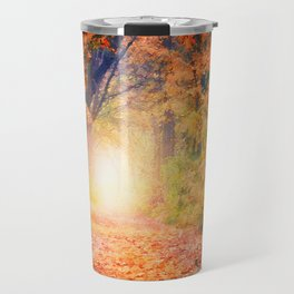Autumnal forest watercolor painting #3 Travel Mug