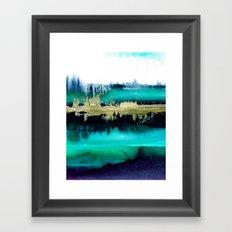 Azure sky Framed Art Print