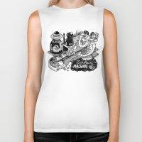 cookies Biker Tanks featuring Cookies Machine by MrCapdevila / Bingo