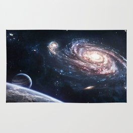 universe space Rug