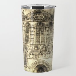 York Minster Cathedral Vintage Travel Mug