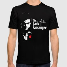 The Dark Passenger Black X-LARGE Mens Fitted Tee