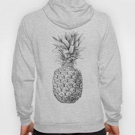 Pineapple, tropical fruit illustration Hoody