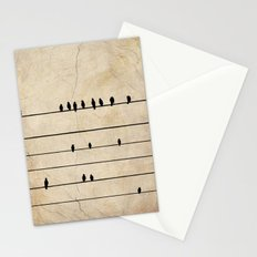 Gang Of Crows Stationery Cards