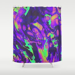 TURN ON THE BRIGHT LIGHTS Shower Curtain
