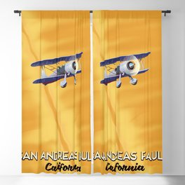 San Andreas fault California Blackout Curtain