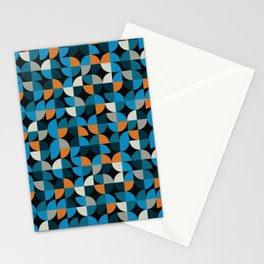 Luxury Mosaic Abstract Pattern Stationery Cards