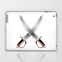 Crossed Cutlasses Laptop & iPad Skin