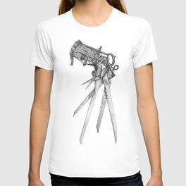 Scissorhands(BW-R) T-shirt