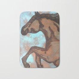 Dream Horse (copper) Bath Mat