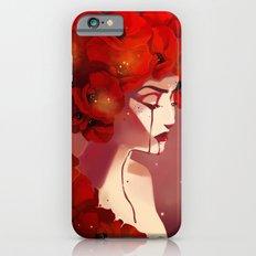 Red Poppy Girl Alternate Slim Case iPhone 6s