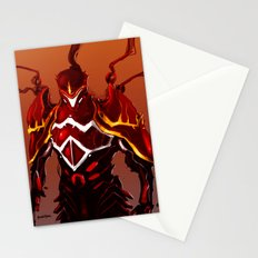 Flare Armor Stationery Cards