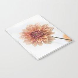 Dahlia Flower Notebook