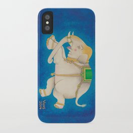 Happy Dreamtime Elephant iPhone Case