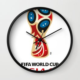 World Cup 2018 Wall Clock