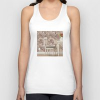 agate Tank Tops featuring agate walls,wallpaper by ira gora