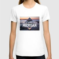 postcard T-shirts featuring Marquette Postcard by ztwede