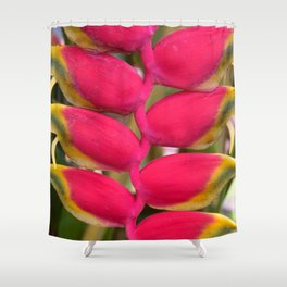 Tropical Curves Shower Curtain