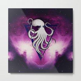 Space octopus. Metal Print