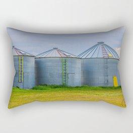 Grain Bins 4 Rectangular Pillow