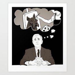 Georgie's Dreams Art Print