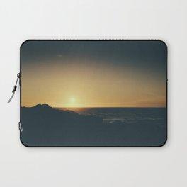 Fistral Beach, Newquay, Cornwall Sun set Laptop Sleeve