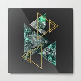 Gloomy Succulents #society6 #decor #buyart Metal Print