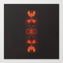 DAY 341: THERMAL THROTTLE AWARENESS DAY Canvas Print