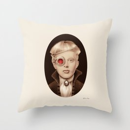 """Steampunk"" Throw Pillow"