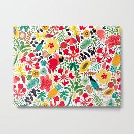 tropical botanical Metal Print
