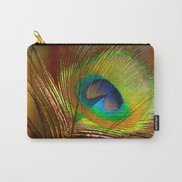 Peacock's Love Carry-All Pouch