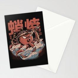 Takoyaki Attack Black Version Stationery Cards