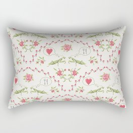 The mantis girl is hungry of love Rectangular Pillow