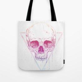 Skull in triangle Tote Bag
