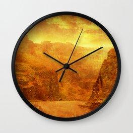 Scorching Gorge. Wall Clock