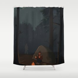Fireflies (The Last of Us) Shower Curtain